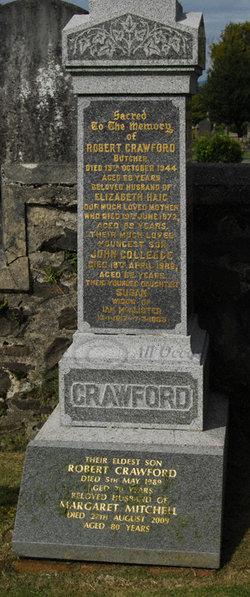 Elizbaeth <i>Haig</i> Crawford
