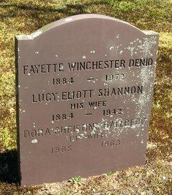 Lucy Eliott <i>Shannon</i> Denio