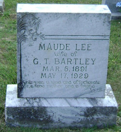 Maude Lee <i>Hollinsworth</i> Bartley