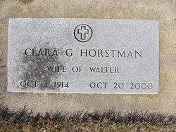 Clara G Horstman