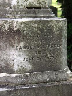 Ann S Alexander