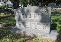 Ruth Ella <i>Davis</i> Collins