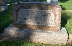 Mary R <i>Forbes</i> Cornish
