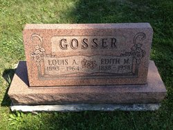 Edith Madeline <i>Brown</i> Gosser