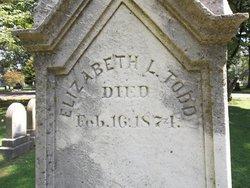 Elizabeth L <i>Humphreys</i> Todd