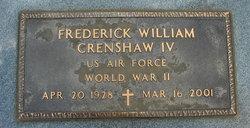 Frederick William Crenshaw, IV