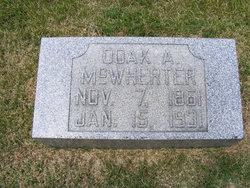 Doak ALexander McWherter