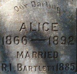 Alice T <i>Benefield</i> Bartlett