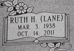 Ruth H <i>Lane</i> Baker
