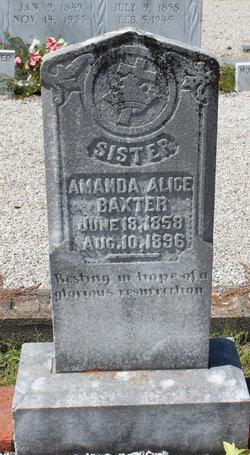 Amanda Alice Baxter