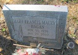 Mary Frances <i>Mauzy</i> Hagan