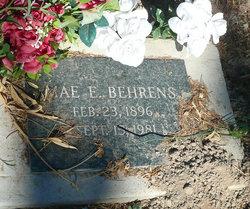 Mae E. <i>Tracy</i> Behrens