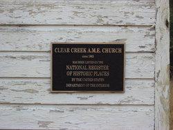 Clear Creek Methodist Church Cemetery