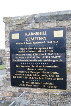 Kaimshill Cemetery