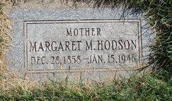 Margaret Malinda <i>Adams</i> Hodson
