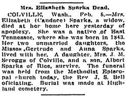 Candace Elizabeth <i>Gatton</i> Sparks