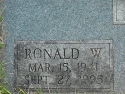 Ronald Wayne Bloss