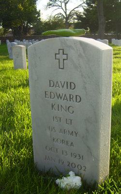 Lieut David Edward King
