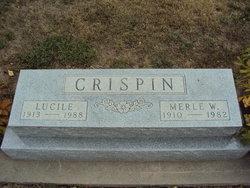 Lucille C <i>Carpenter</i> Crispin