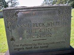 Annie <i>Buck</i> White