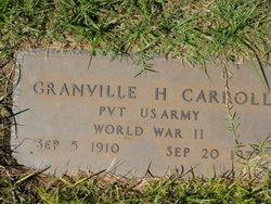 Granville Herbert Carroll