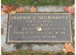 Capt Chadwin Jones Burbidge