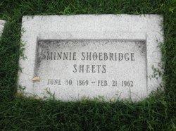 Minnie <i>Shoebridge</i> Sheets