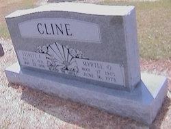 Myrtle Olene <i>Hysaw</i> Cline