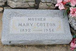 Mary <i>Patterson</i> Cotton