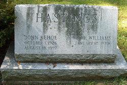 John Kehoe Hastings