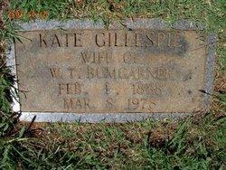 Kate <i>Gillespie</i> Bumgarner