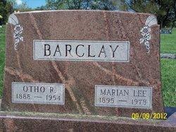 Marian <i>Lee</i> Barclay