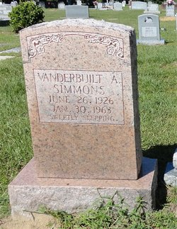 Vanderbuilt Augustus Simmons