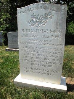 Ellen Matthews Bagby