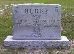 Mary F. Minnie <i>Whetstone</i> Berry