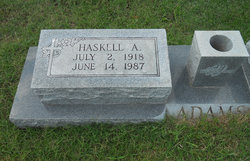 Haskell Alfred Adams