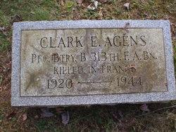 PFC Clark E Agens