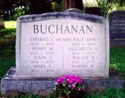 Henry M Buchanan