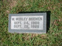 W Wesley McEwen