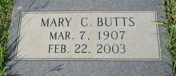Mary C Butts