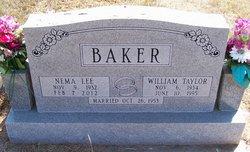 Nema Lee <i>Wilson</i> Baker