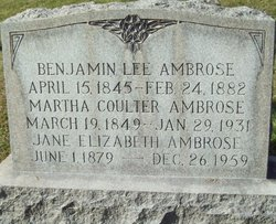 Martha <i>Coulter</i> Ambrose