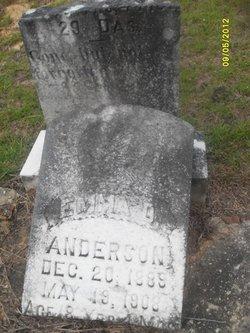 Emma D Anderson