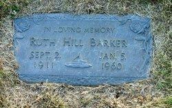Ruth Jean <i>Hill</i> Barker