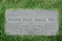 Frank Paul Mackovic