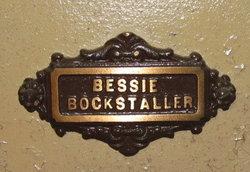 Elizabeth Bessie <i>McClarin</i> Bockstaller