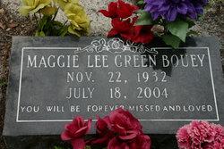 Maggie Lee <i>Green</i> Bouey