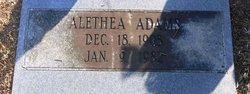 Alethea Adams