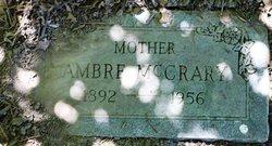 Ambre Georgia <i>Sevedge</i> McCrary