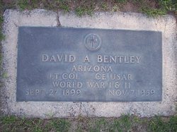 LTC David A Bentley